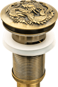 Донный клапан Bronze de luxe 21984 бронза