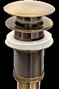 Донный клапан Bronze de luxe 21972 бронза