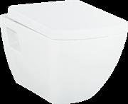 Унитаз подвесной с биде Creavit TP326.00000+KC3181 с крышкой-сиденьем микролифтом Турция