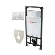 Инсталляция для унитаза AlcaPlast Sadromodul 4 в 1 SET 4 v 1 A101+M070 с кнопкой