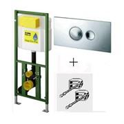 Инсталляция для унитаза Viega Eco Plus 660321 с кнопкой смыва Германия