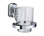 Стакан для зубных щеток стеклянный Wasserkraft Oder K-3028 Германия