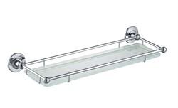 Timo Nelson  полка в ванну стеклянная  150072/00 chrome - фото 113549