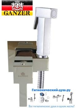 Гигиенический душ скрытого монтажа GANZER LEON GZ 72101 - фото 114170