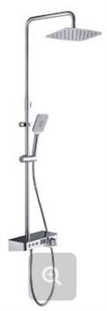 Душевая система с термостатом Ganzer 48061 хром - фото 121321