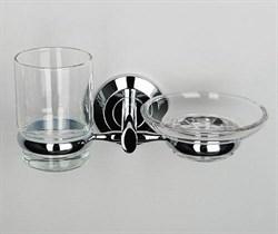 Держатель стакана и мыльницы Wasserkraft Rhein K-6226 - фото 136780