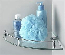 Полка стеклянная угловая WasserKraft K-544 - фото 137775