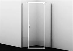 Душевой уголок пятиугольный, с распашными дверьми Wasserkraft Leine 35P11 900x900x2000 мм - фото 155937