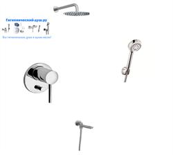Душевая система скрытого монтажа KLUDI Bozz 3871605766/140 хром - фото 167989