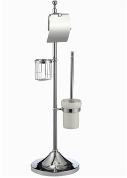 Комбинированная напольная стойка Ganzer GZ30037 хром - фото 175418