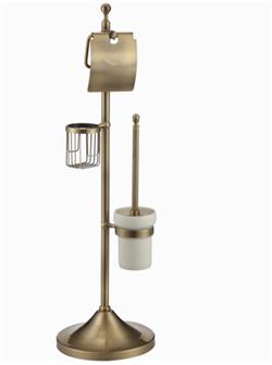 Комбинированная напольная стойка Ganzer GZ30037D  бронза - фото 175419