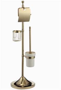 Комбинированная напольная стойка Ganzer GZ30037E золото - фото 175420