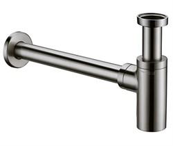 Сифон для раковины WasserKraft A093 хром матовый - фото 175587
