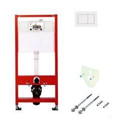 Комплект TECEbase для установки подвесного унитаза с панелью смыва ТЕСЕnow белая, K400400 - фото 189943