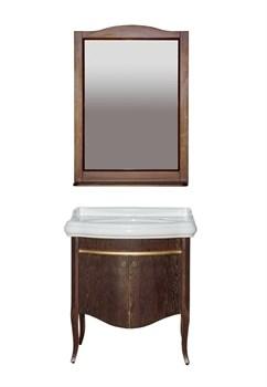 Комплект мебели Misty Агата 80 орех/золотая патина - фото 191338
