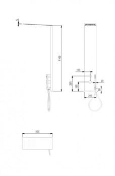 Душевая панель CEZARES PREMIER-CD2-BIO - фото 193511
