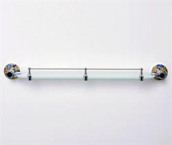 Полка стеклянная WasserKraft Diemel K-2244 - фото 194587