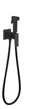 Гигиенический душ скрытого монтажа Grohenberg GB002 черный матовый - фото 202296