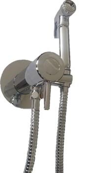 Гигиенический душ скрытого монтажа с термостатом Ganzer Termo GZ42501 хром - фото 202395