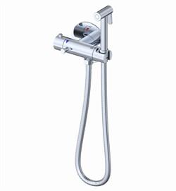Гигиенический душ скрытого монтажа с термостатом GAPPO G7290 хром - фото 208311