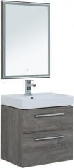 Мебель для ванной Aquanet Nova 60 дуб рошелье (2 ящика) - фото 209703