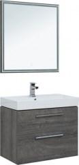 Мебель для ванной Aquanet Nova 75 дуб рошелье (2 ящика) - фото 209705