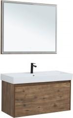 Мебель для ванной Aquanet Nova Lite 100 дуб рустикальный (1 ящик) - фото 209712