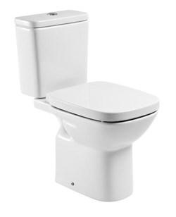 Унитаз напольный Roca Debba, 34299700Y+ZRU9302826 крышка-сиденье микролифт Испания - фото 88943