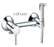 Гигиенический душ с настенным смесителем CEZARES GARDA-CZR-DA3-01 хром