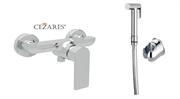 Гигиенический душ с настенным смесителем CEZARES FURORE-DM-01-Cr-IF-02 хром