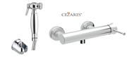 Гигиенический душ с настенным смесителем CEZARES POSITANO-DM-01 хром