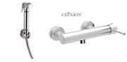 Гигиенический душ с настенным смесителем CEZARES POSITANO-DM-01-IFS-02 хром