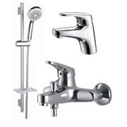 Комплект для ванной KAISER County 5500K (55011+55022+стойка KS-110) Хром
