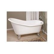 Ванна чугунная Magliezza Beatrice 153x76,5 (ножки хром)