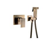 Гигиенический душ скрытого монтажа GANZER LEON GZ 5203D бронза