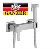 Гигиенический душ с настенным смесителем GANZER UNI GZ 22101 хром