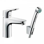 Смеситель для раковины с гигиеническим душем Hansgrohe Focus 3192700