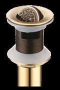 Донный клапан Bronze de luxe 21979 бронза