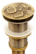 Донный клапан Bronze de luxe 21976 бронза
