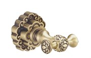 Двойной крючок для полотенец Bronze de Luxe К25205
