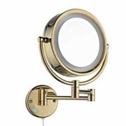 Зеркало косметическое электрическое с подсветкой Bronze de Luxe 12201G