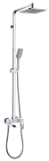 Душевая система Ganzer 25080F хром/белый