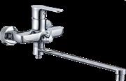 Смеситель для ванной GANZER FREDJ GZ 04041 Хром