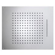 Тропический  верхний душ Bossini DREAM H38926.030 570 х 470 мм, для установки в подвесной потолок, 2 режима, хром