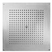 Тропический  верхний душ Bossini DREAM CUBE H38459.030 470 x 470 мм, для установки в подвесной потолок, хром