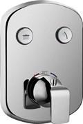 Термостатический смеситель для ванны и душа скрытого монтажа CEZARES GLOBO-F-VDIM2-B-01 хром