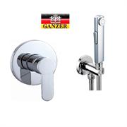 Гигиенический душ скрытого монтажа GANZER LEON GZ5202-2038