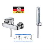 Гигиенический душ с настенным смесителем GANZER MARGARETTE GZ 220522038 хром