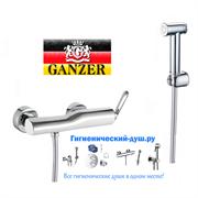 Гигиенический душ с настенным смесителем GANZER VILDA GZ 200522015 хром