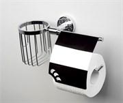 Держатель туалетной бумаги и освежителя WasserKraft Isen К-4059